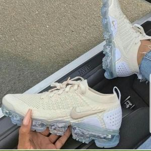 Nike vapormax beige white 2020  air max flyknit